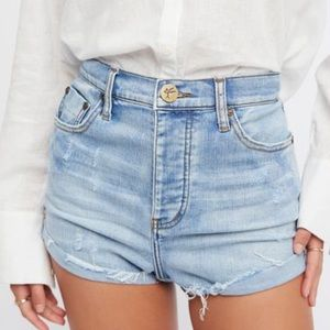 ONE x ONE TEASPOON For FREE PEOPLE Bandit Short 25